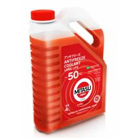 Mitasu Red Long Life Antifreeze Coolant –50°C 4L