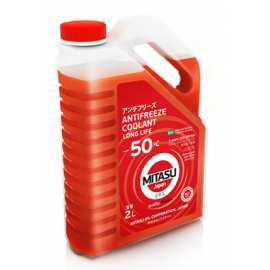 Mitasu Red Long Life Antifreeze Coolant –50°C 2L
