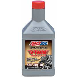 Amsoil Synthetic V-Twin Motorcycle Oil 20w40 MVI 1qt (0,946l)