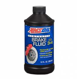 Amsoil DOT 3 and DOT 4 Brake Fluid 355 ml
